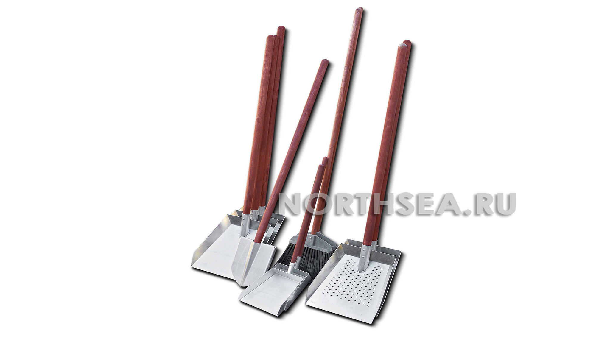 Комплект искробезопасных лопат на 6 человек